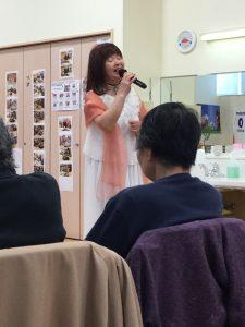 歌の会♪ボランティア様が来てくださいました(^^)