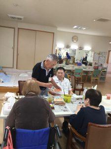 田村先生の版画教室
