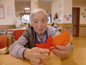 折り紙で秋を満喫しました☆