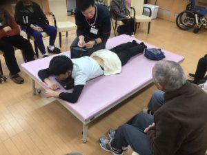 デイサービスセンター松浜で鍼灸のデモンストレーションをしてきました!