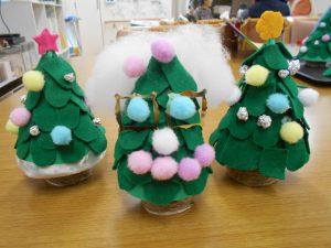クリスマスツリーの小物