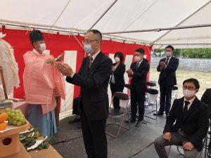 地鎮祭が執り行われました 新潟市東区豊