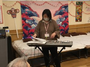 ㊗新年初!の音楽療法~♬